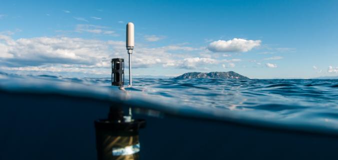 robots en océanos