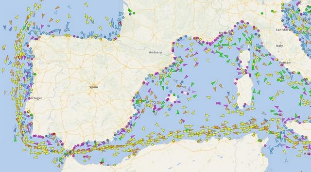 aplicacion para rastrear barcos