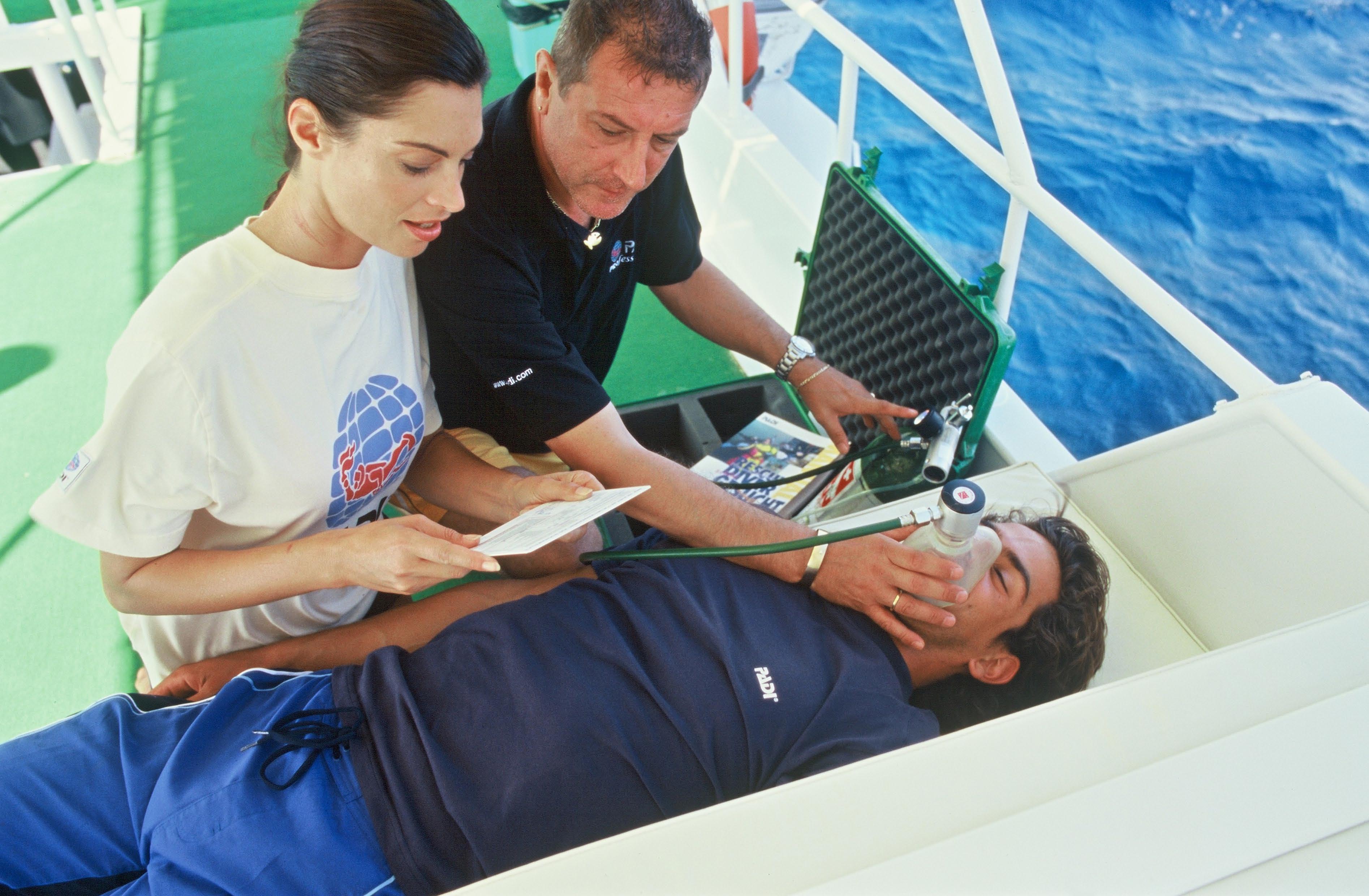emergencia médica a bordo