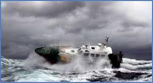 navegar con mal tiempo